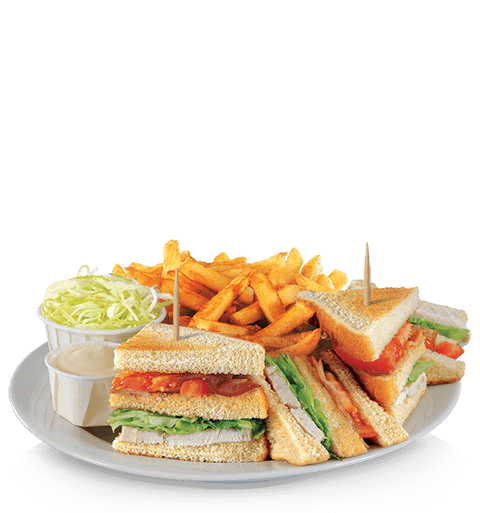 Image of a club sandwich